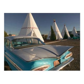 Na, Etats-Unis, Arizona, itinéraire 66, tipi 2 de Carte Postale