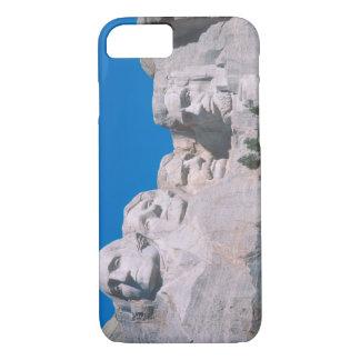 Na, Etats-Unis, écart-type, le mont Rushmore. Coque iPhone 7