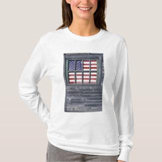 Na, Etats-Unis, Maine, île de Georgetown. Drapeau T-shirt