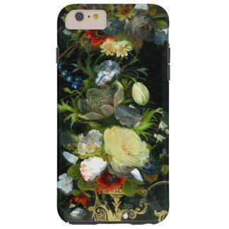 Nacre marquetée par fleurs victoriennes coque iPhone 6 plus tough