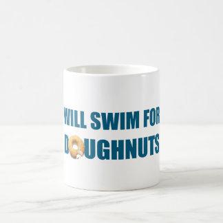 Nagera pour des beignets, cadeau drôle mug