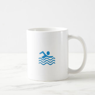 Nageur 101 de bain de succès de natation du mug