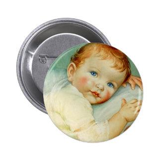 Naissance/anniversaire de bébé badges avec agrafe