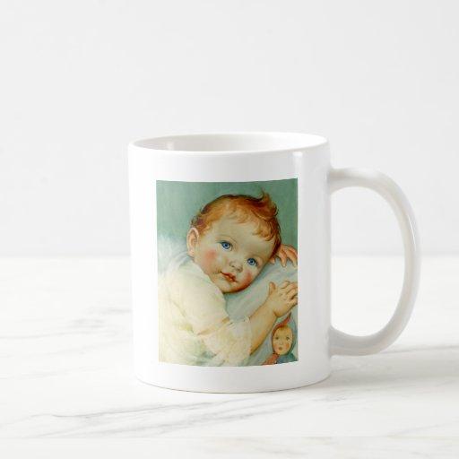 Naissance/anniversaire de bébé tasse