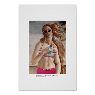 Naissance de bikini de Vénus Affiches