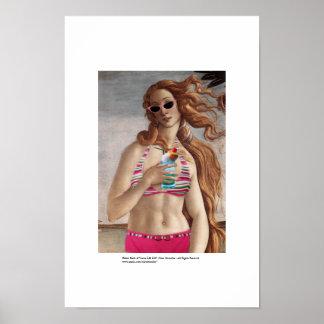 Naissance de bikini de Vénus Posters