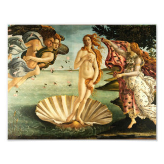 Naissance de Botticelli d'art de cru de la Photos D'art