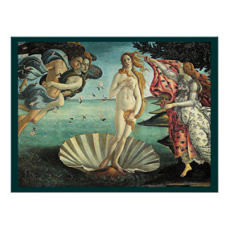 naissance de botticelli de venus posters