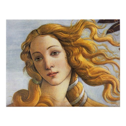 Naissance de petit groupe de Vénus, Botticelli Posters