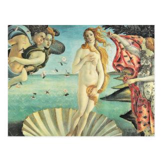 Naissance de Sandro Botticelli de Vénus Cartes Postales