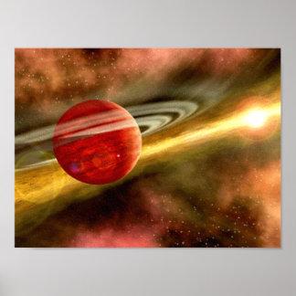Naissance de Saturn Affiches