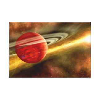 Naissance de Saturn Toile Tendue Sur Châssis