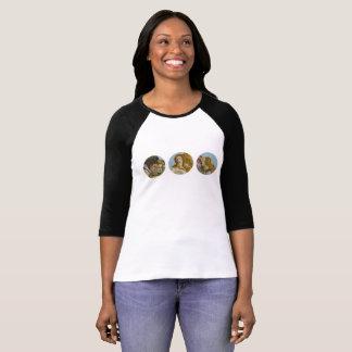 Naissance de T-shirt de la douille des femmes de