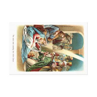 naissance du Christ Impressions Sur Toile