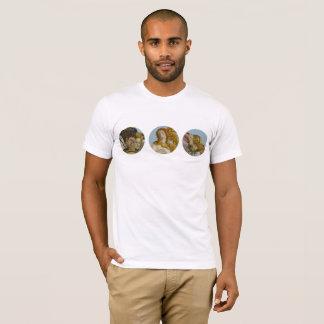 Naissance du T-shirt des hommes de Vénus