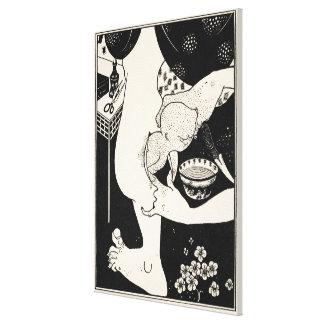 Naissance du veau de la jambe, illustration de toile tendue sur châssis
