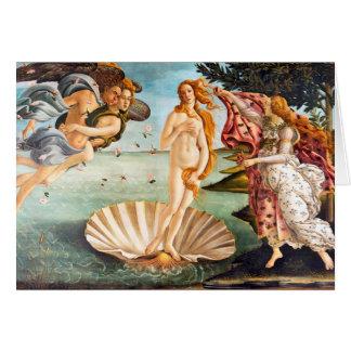 Naissance reconstituée et de Recolored Botticelli Cartes