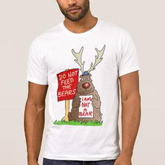N'alimentez pas le T-shirt d'ours