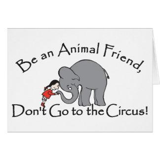 N'allez pas à la carte de cirque