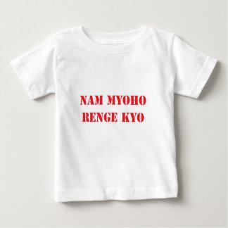 Nam Myoho Renge Kyo T-shirt Pour Bébé
