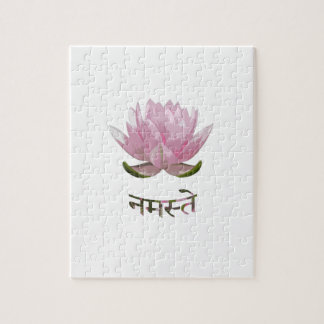 Namaste - Lotus Puzzle