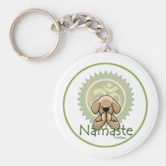 Namaste - porte - clé de yoga porte-clés