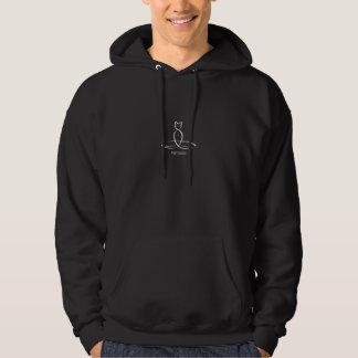 Namaste - texte régulier de style veste à capuche