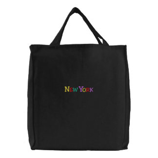 Namedrop Nation_New York multicolore Sac Brodé