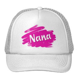 Nana aime le rose casquette de camionneur