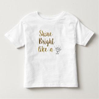 nanlix KIDS White T-shirt Pour Les Tous Petits
