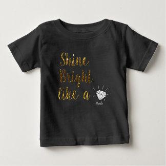 Nanlix Toddler Black T-shirt Pour Bébé