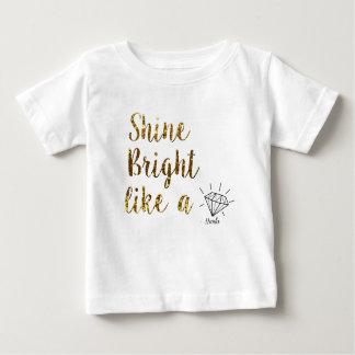 Nanlix Toddler White T-shirt Pour Bébé