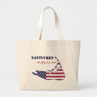 Nantucket patriotique, le cinquante-et-unième état grand sac