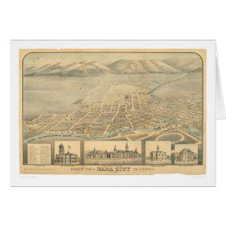 Napa, carte panoramique de CA (0684A)
