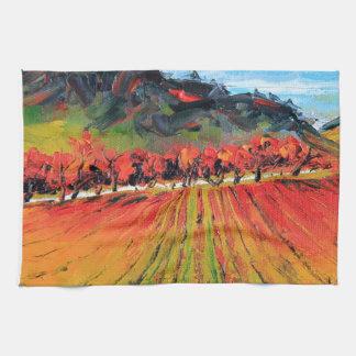 Napa Valley par Lisa Elley Serviette Pour Les Mains