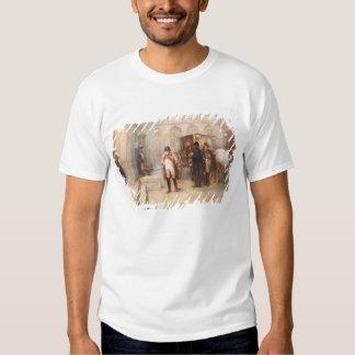 Napoléon après Waterloo (huile sur la toile) T-shirts