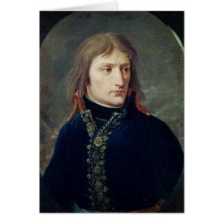 Napoleon Bonaparte comme Général-dans-Chef Carte De Vœux