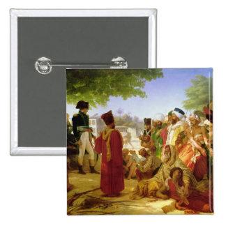 Napoleon Bonaparte pardonnant les rebelles Badges
