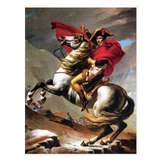 Napoléon croisant la carte postale d'Alpes
