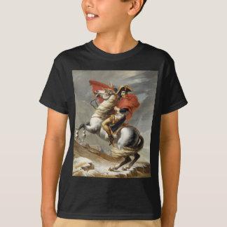 Napoléon croisant les Alpes - Jacques-Louis David T-shirt