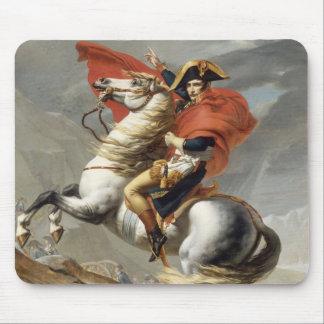 Napoléon croisant les Alpes - Jacques-Louis David Tapis De Souris