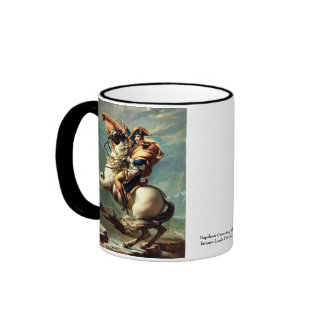 Napoléon croisant les Alpes Mug Ringer