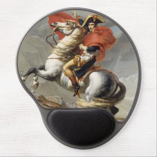 Napoléon croisant les Alpes par Jacques Louis Tapis De Souris Avec Gel