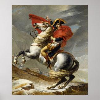 Napoléon croisant les Alpes Poster