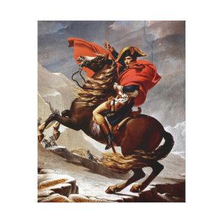 Napoléon croisant les Alpes Toiles