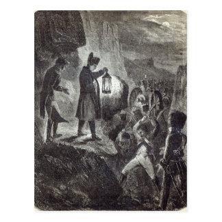 Napoléon dégageant l'artillerie de Lannes Carte Postale