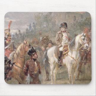 Napoléon et ses troupes (huile sur panneau) (paire tapis de souris