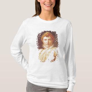Napoléon I dans des robes longues de couronnement,