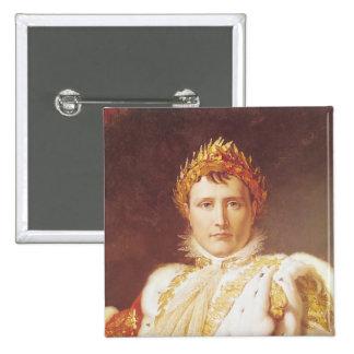 Napoléon I dans des robes longues de couronnement, Badges