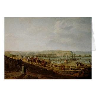 Napoléon I visitant le camp à Boulogne Carte De Vœux